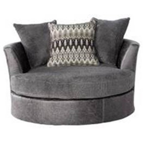 3250 Contemporary Barrel Chair With Flared Back By Seminole Furniture