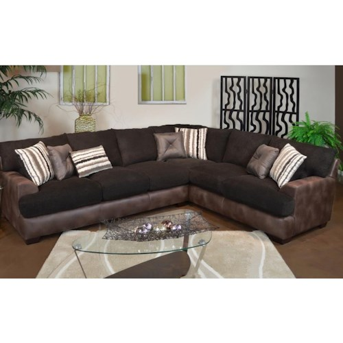 Seminole Furniture 3775 Casual 2 Pc. Sectional