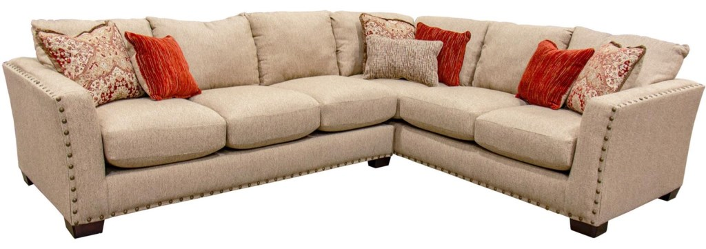 Seminole Furniture Pritoa Grp 1450 Sectional 2 Piece Sectional Sofa