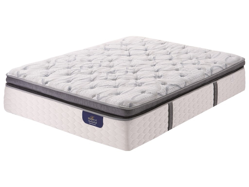 Serta Bellagio Briaza SPT FirmQueen Super Pillow Top Firm Mattress