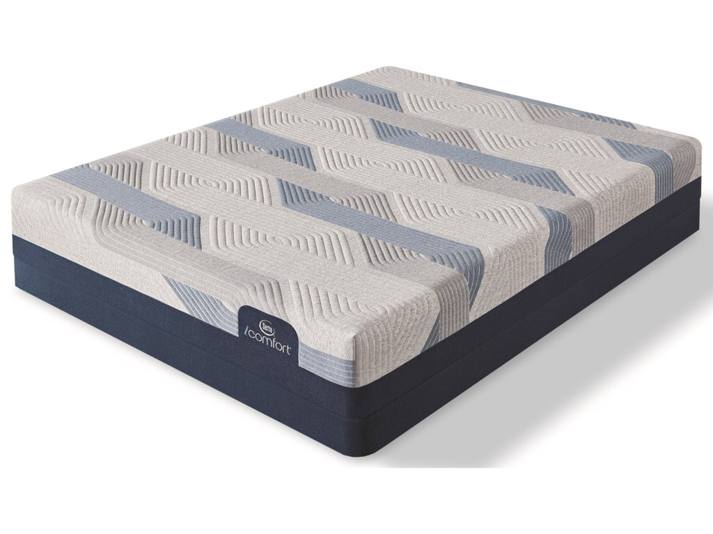 Serta Blue 100CT Gentle Firm 2019Cal King Gel Memory Foam LP Set