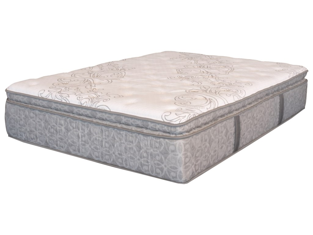 Serta DH Whispering Pines SPTKing Super PT Pocketed Coil Mattress