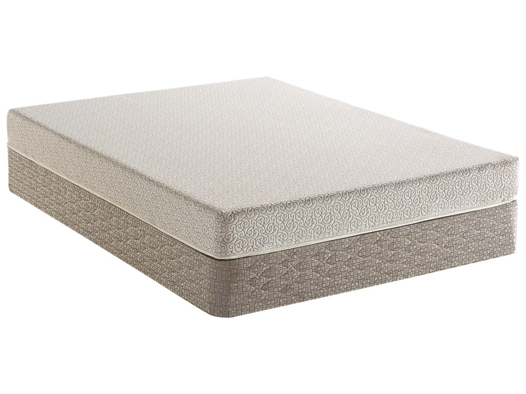 Serta Dream Haven Sand Hills Queen Firm Memory Foam Mattress