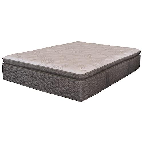 Serta iAmerica Symbolism EPT Twin Euro Pillow Top Pocketed Coil Mattress