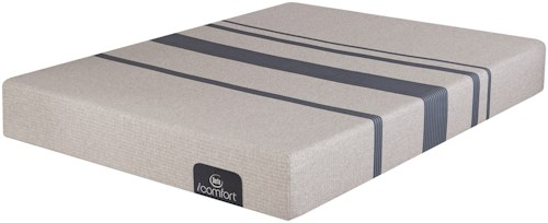 Serta iComfort Blue 100 Gentle Firm Twin Extra Long Gentle Firm Gel Memory Foam Mattress