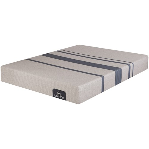 Serta iComfort Blue 100 Gentle Firm Twin Extra Long Gentle Firm Gel Memory Foam Mattress