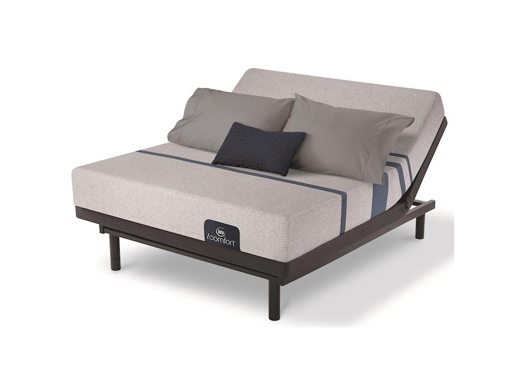 Serta iComfort Blue 100 Gentle FirmFull Adjustable Set