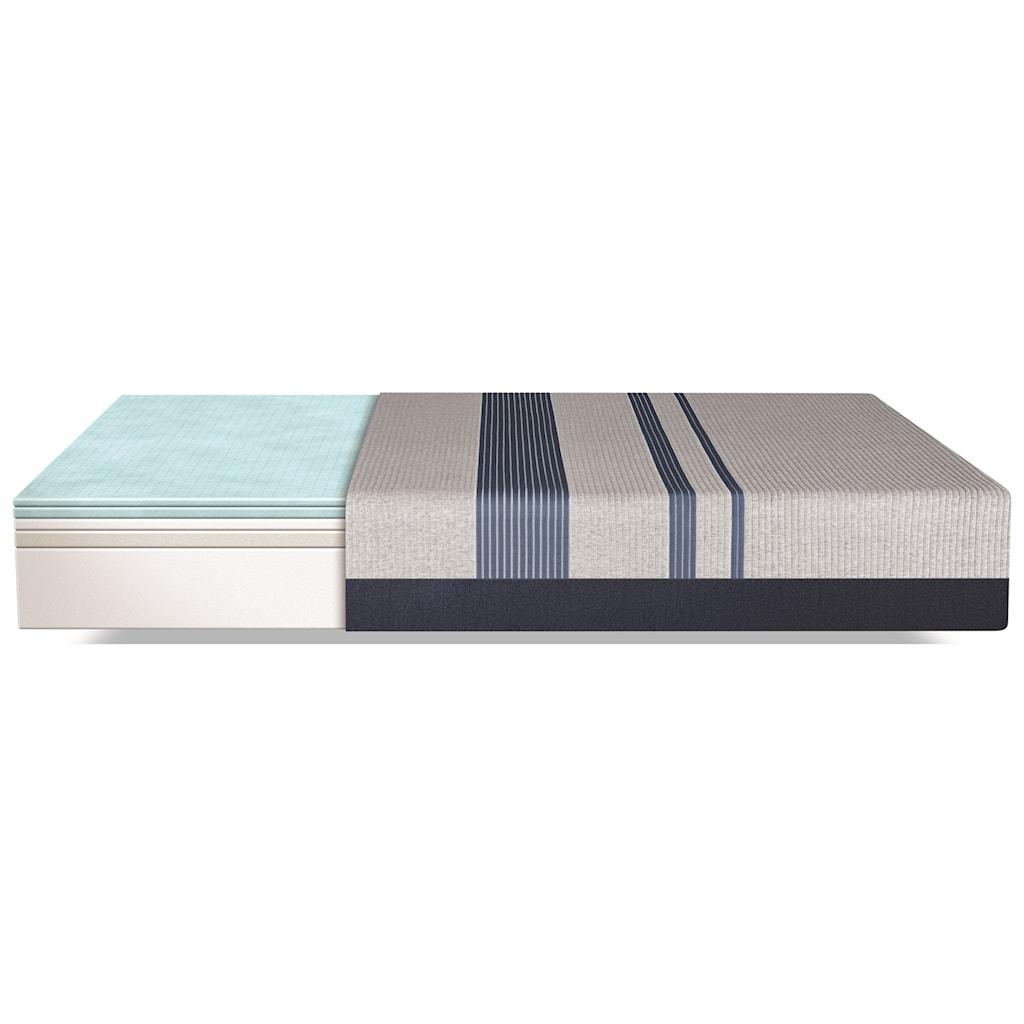 Serta Icomfort Blue 300 Firm Full Firm Gel Memory Foam Mattress And