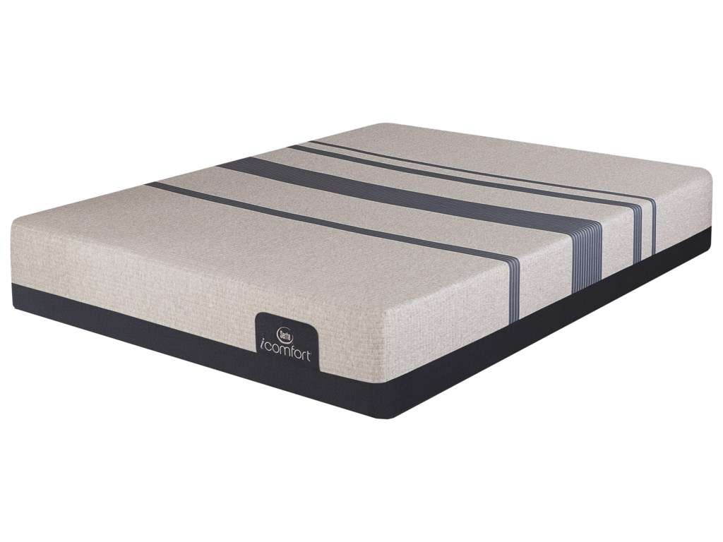 Serta iComfort Blue 300 FirmDivided King Firm Gel Memory Foam Adj Set