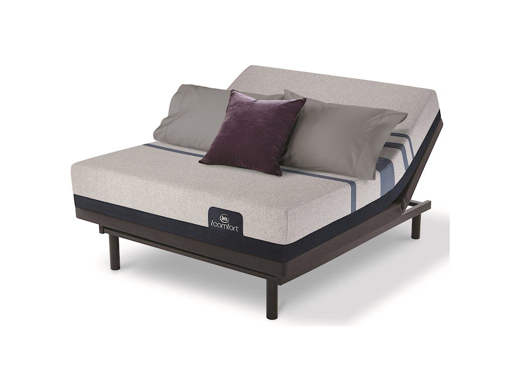 Serta iComfort Blue 300 FirmCal King Adjustable Set