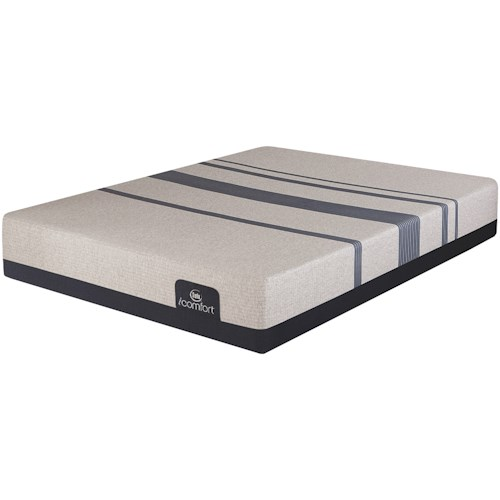 Serta Icomfort Blue 500 Plush King Plush Gel Memory Foam Mattress