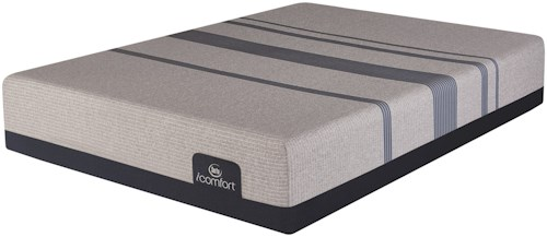 Serta iComfort Blue Max 1000 Cushion Firm Full Mattress and Motion Essentials III Adjustable Base