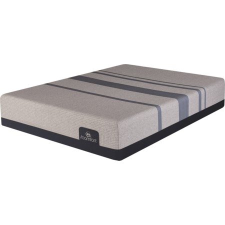 King Plush Gel Memory Foam Mattress
