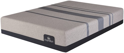 Serta iComfort Blue Max 1000 Plush King Mattress and Motion Custom II Adjustable Base