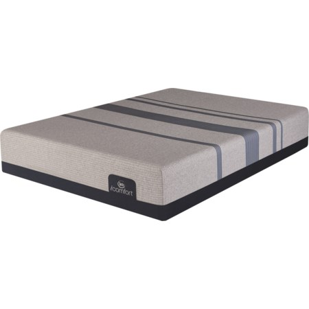 Twin XL Elite Plush Gel Memory Foam Adj Set