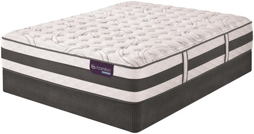 Serta iComfort Hybrid Applause II Twin Extra Long Firm Hybrid Quilted Mattress and Motion Essentials II Adjustable Base