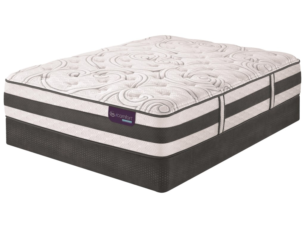 Serta iComfort Hybrid Applause IIFull Plush Hybrid Quilted Mattress Set