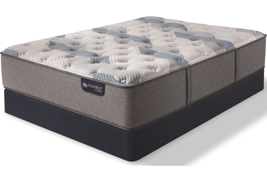 Serta Icomfort Hybrid Blue Fusion 100 Firm Twin Extra Long Firm
