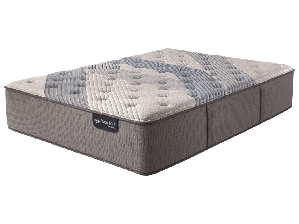Serta iComfort Hybrid Blue Fusion 1000 Lux FirmKing Luxury Firm Hybrid Mattress