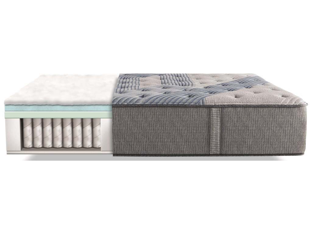 Serta iComfort Hybrid Blue Fusion 1000 Lux FirmQueen Luxury Firm Hybrid Mattress Set