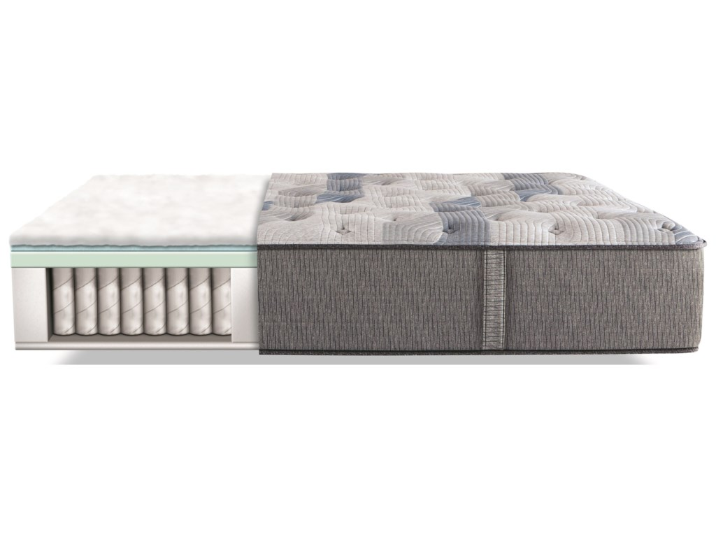 Serta iComfort Hybrid Blue Fusion 200 PlushCal King Plush Hybrid Mattress Set