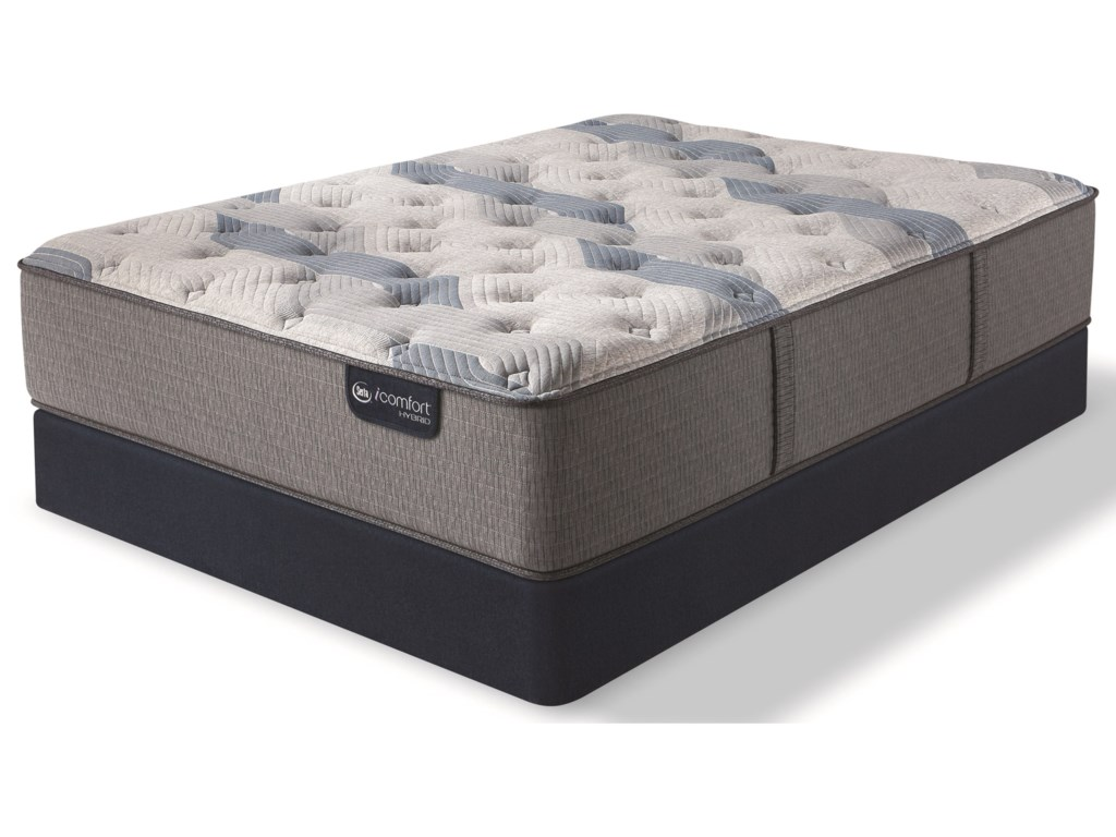 Serta iComfort Hybrid Blue Fusion 200 PlushKing Plush Hybrid Mattress Set