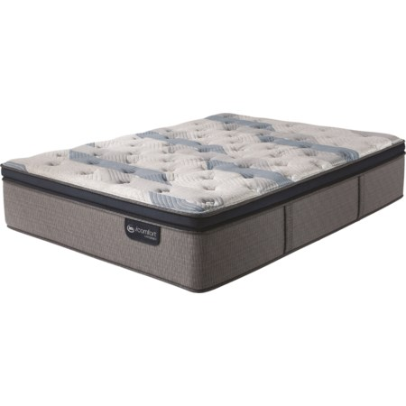 Twin XL Plush Pillow Top Hybrid Mattress
