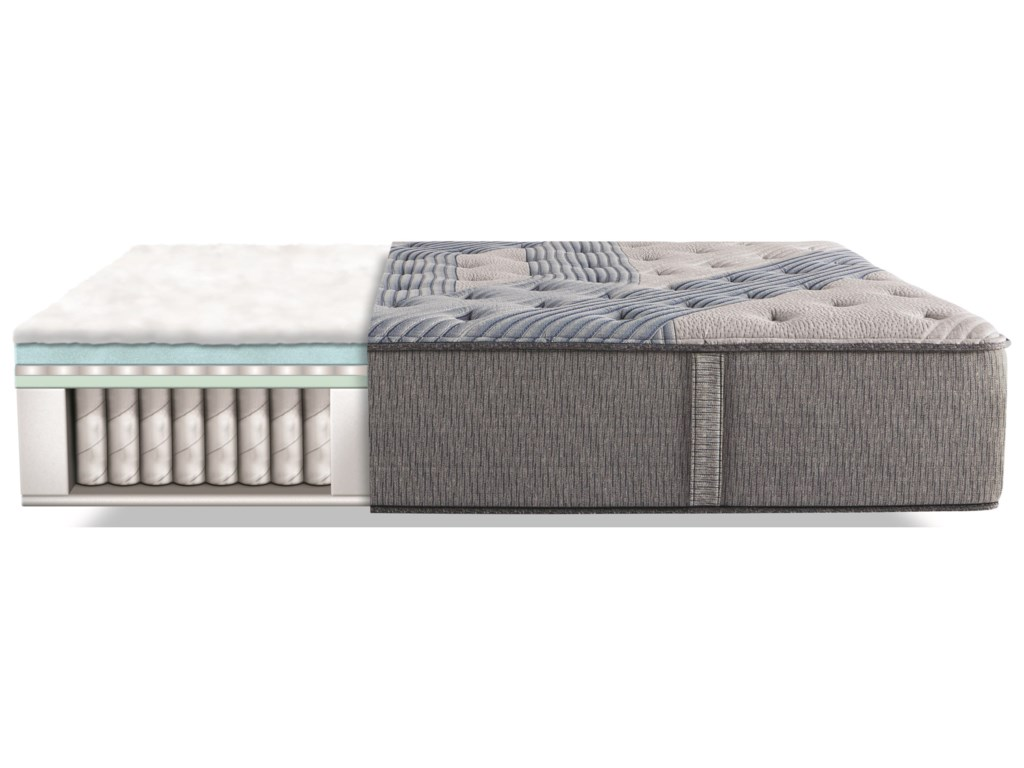 Serta iComfort Hybrid Blue Fusion 3000 PlushCal King Plush Hybrid Mattress Set