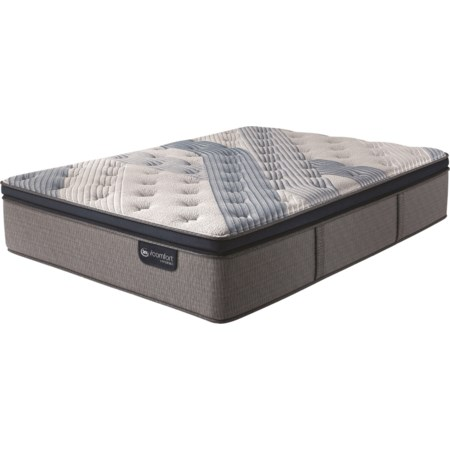 Queen Plush Pillow Top Hybrid Mattress