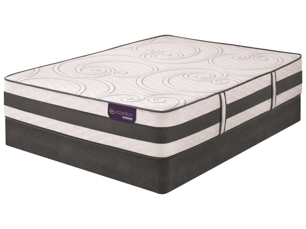 Serta iComfort Hybrid DiscovererFull Firm Hybrid Smooth Top Matt Set, Adj