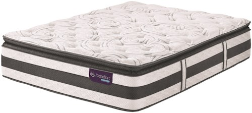Serta iComfort Hybrid Observer Twin Extra Long Super Pillow Top Hybrid Quilted Mattress