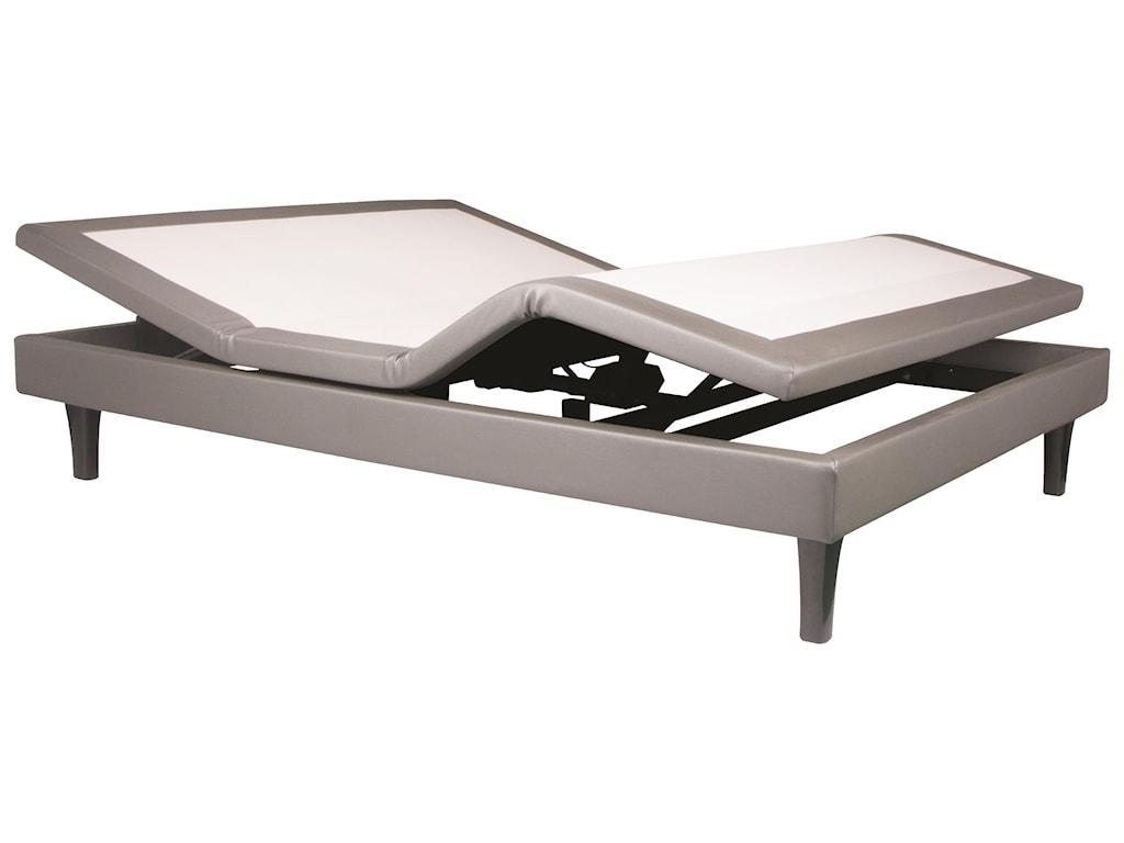 Serta iComfort Hybrid PhilosopherTwin XL Plush Hybrid Mattress Set, Adj