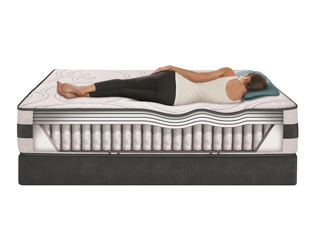 Serta iComfort Hybrid PhilosopherTwin XL Plush Hybrid Mattress Set