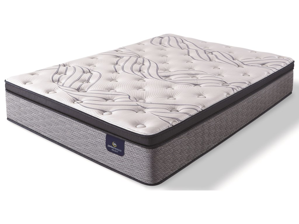 Serta Kleinmon II Firm Pillow TopCal King Pocketed Coil Mattress