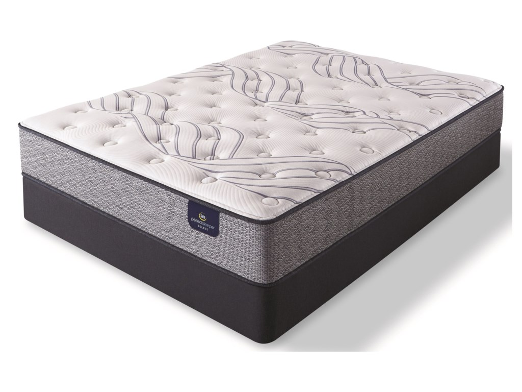 Serta Kleinmon II PlushFull Pocketed Coil Mattress Set