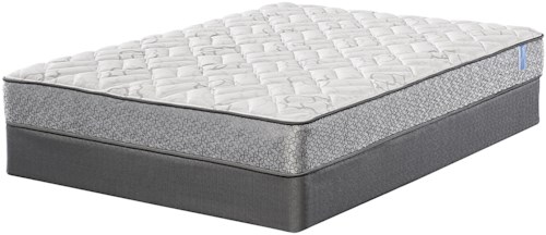 Serta Majestic Sleep Davey Twin Firm Mattress and 9
