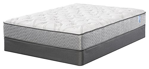 Serta Majestic Sleep Raftery Queen Plush Mattress and Pivot Up Adjustable Base
