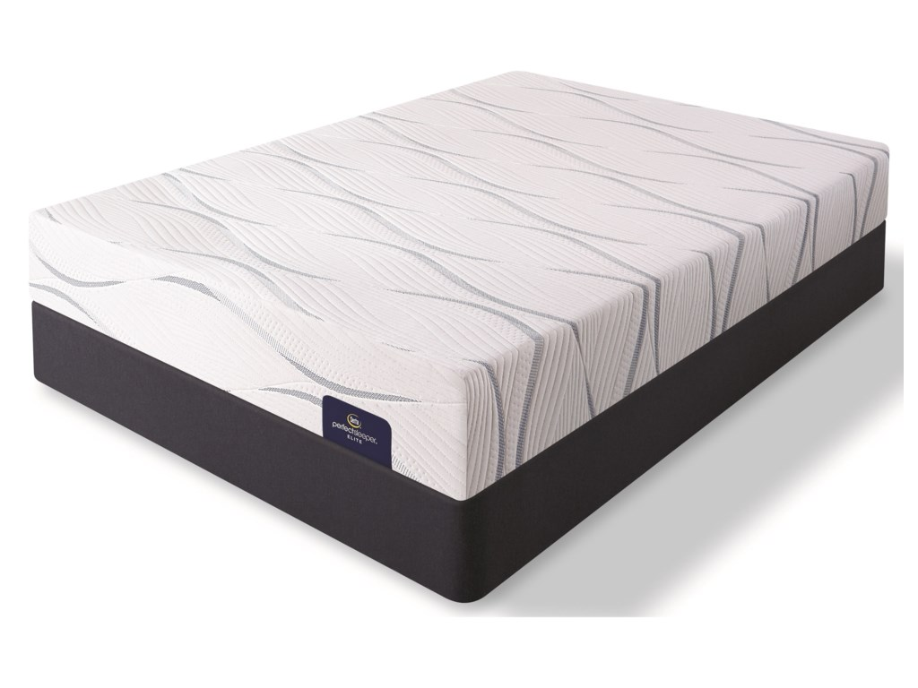 Serta Merriam II FirmQueen Memory Foam Mattress Set