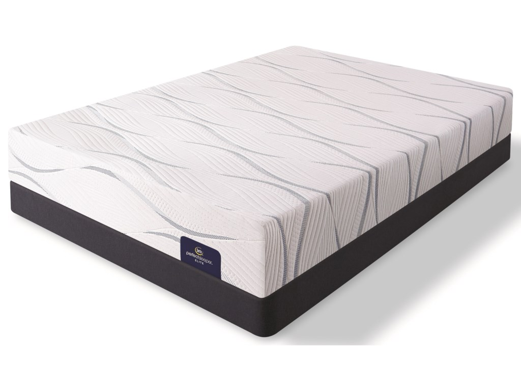 Serta Merriam II FirmFull Gel Memory Foam Low Profile Set