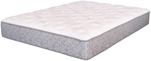 Serta MS Adamson Plush Queen Plush Pocketed Coil Mattress and MP III Adjustable Foundation