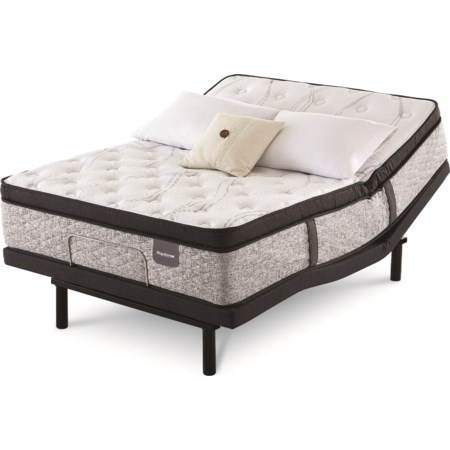King Pocketed Coil Adj Mattress Set