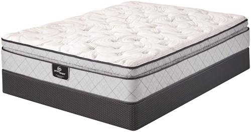 Serta PS 85th Anniversary Special Edition Full Super Pillow Top Mattress and Foundation