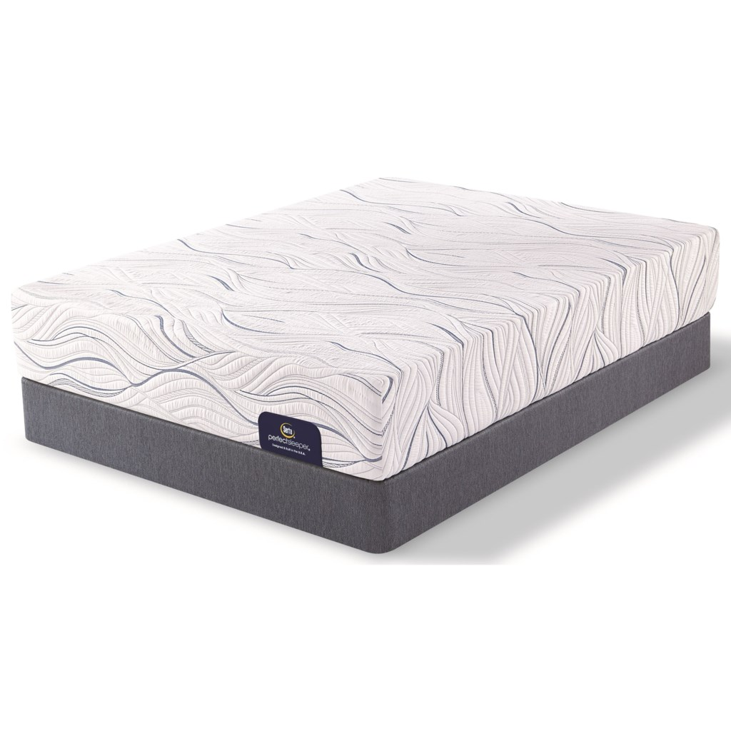 Serta Perfect Sleeper Carriage Hill Plush Twin Mattress and