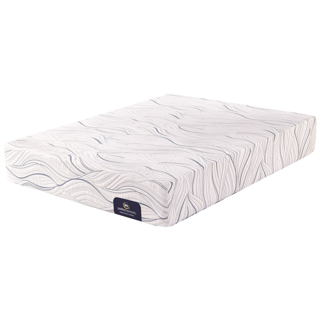 Serta Perfect Sleeper Collier King Plush Gel Memory Foam Mattress