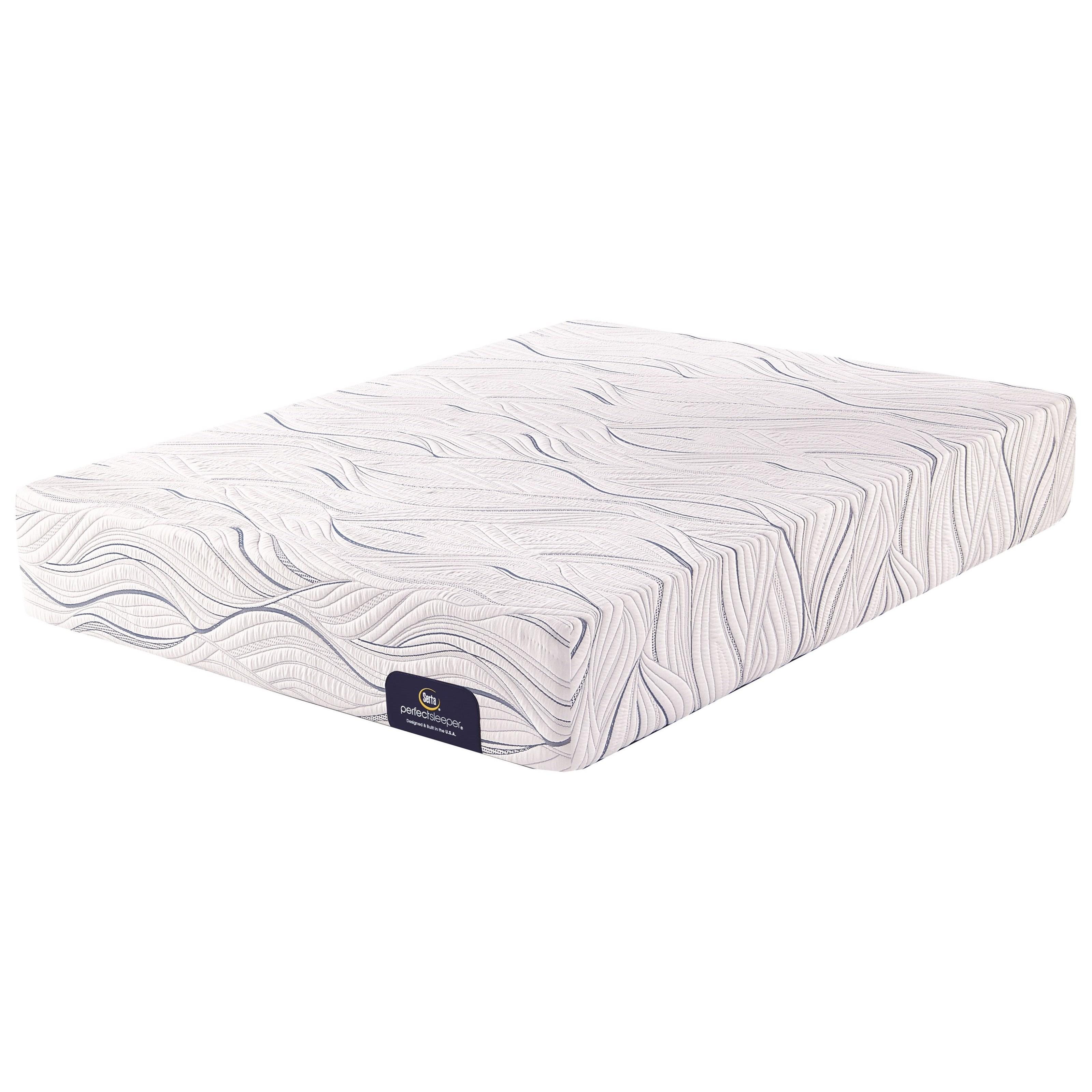 home mattresses mattresses serta chesterton plush queen plush gel memory foam mattress image may not represent size indicated