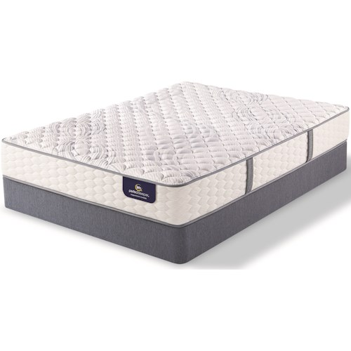 Serta PS Deermore Firm Full Firm Pocketed Coil Mattress and 9