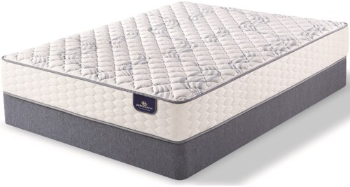 Serta PS Elkins Firm King Firm Pocketed Coil Mattress and 9