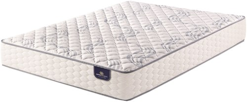 Serta Waddington Firm Queen Firm Pocketed Coil Mattress and Motion Essentials III Adjustable Base