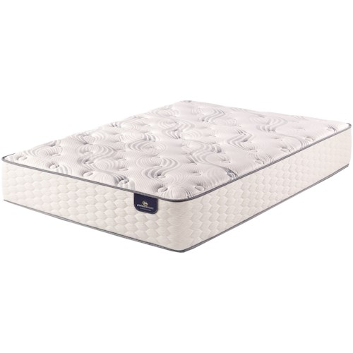 Serta PS Elkins Plush King Plush Pocketed Coil Mattress and Motion Essentials III Divided King Adjustable Base