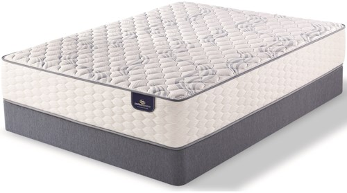 Serta PS Fairhill Firm King Firm Pocketed Coil Mattress and 5